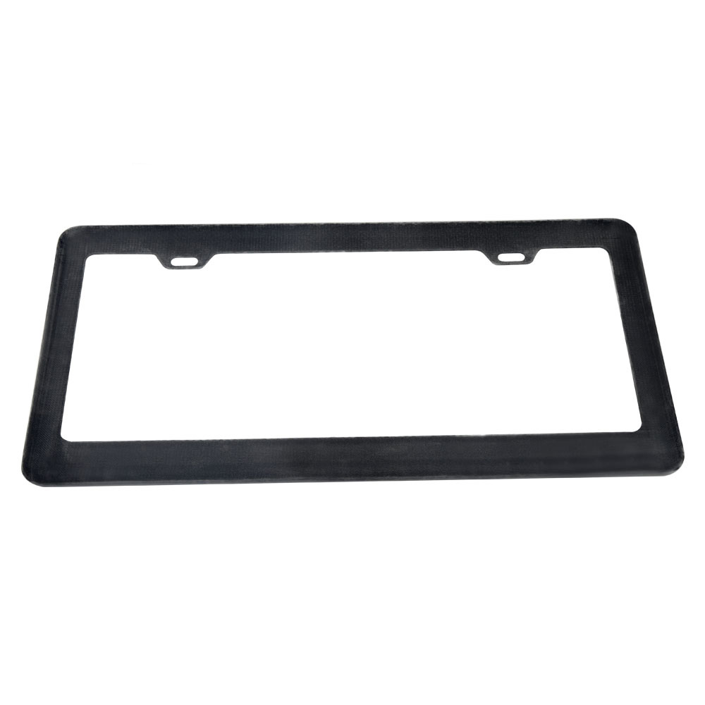 1 Piece 100% Real Carbon Fiber License Plate Frame Tag Cover USA License Plate Frame