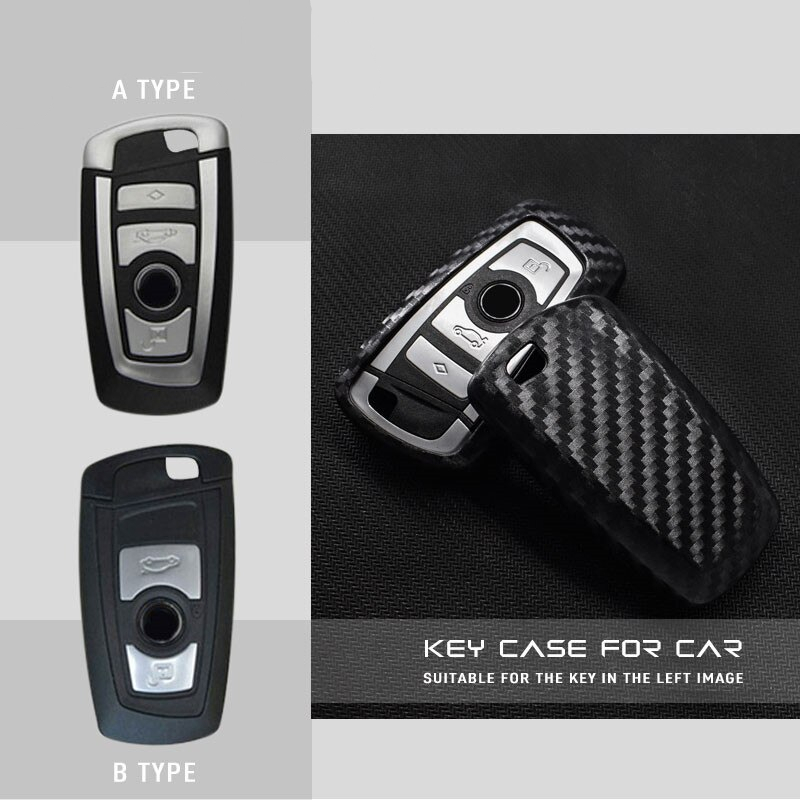 Ceyes Car Styling Auto Shell Carbon Fiber Lines Car Sticker Case For Bmw New 1 3 5 7 F10 F20 F30 Series Car-Styling Accessories